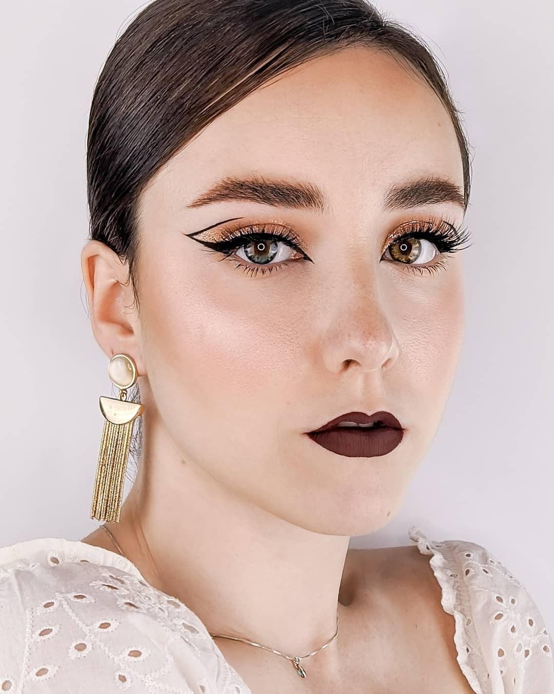 ❤️❤️Love her eyeliner so much!!! Do u like it?  ❤️❤️   Pic by  @carmenportillomuaon IG #ttdeye#ttd_eye#ttdeyeofficial#beautylover#eyelashes#graphiceyeliner#cosmetics#fashion#eyebrow#contactlenses#softlenses#circlelenses#earrings
