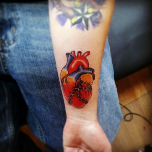 My first anatomical heart