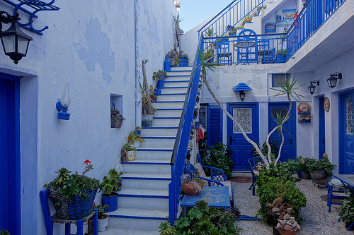 Santorini, Greece. (by Dmitrijs)