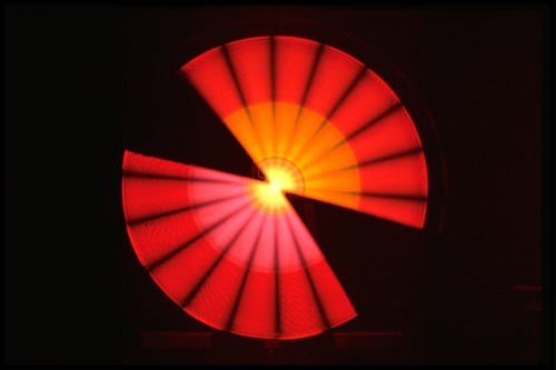 explodingtorium:  Kinetic Light, photo by Susan Schwartzenberg, 1981