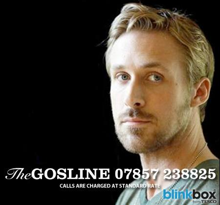 This is a REAL thing. Click here for details on the Ryan Gosling Hotline