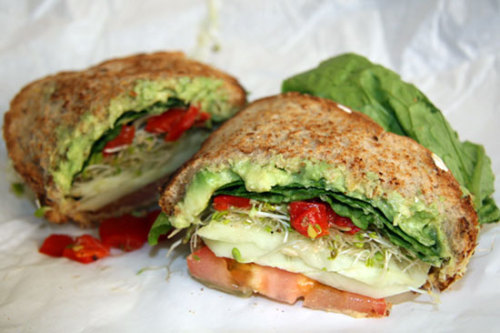 prettybalanced:  Avocado Salad Sandwich
