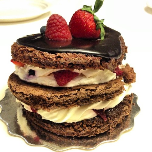 There's always room for dessert… 🍰🍓 #instagood #photooftheday #foodpics #yum