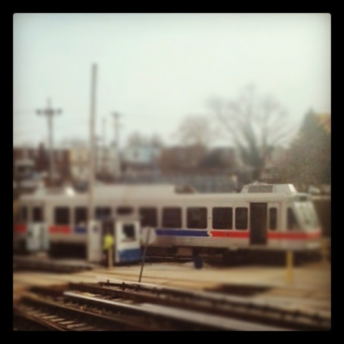 #215life the REAL Red, Blue, and Dirty White HAHA #doebotlife (at SEPTA 69th Street Transportation Center)
