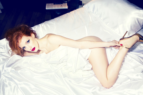 bohemea:  Jessica Chastain by Ellen von Unwerth