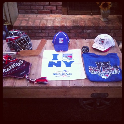 @NYRangers Breaking out all my good luck charms! #NYRBelieve #BelieveInBlue
