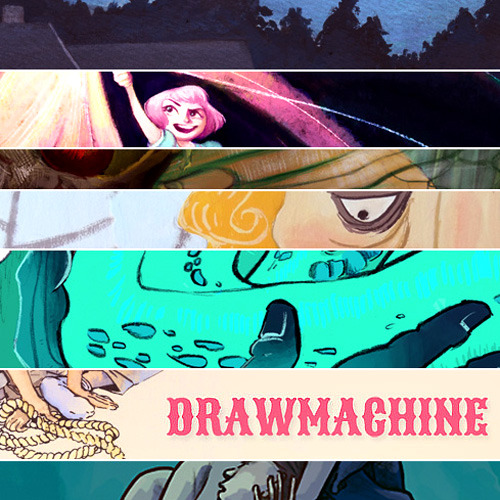 hkrieg:  Oh my goodness DRAWMACHINE is back! Another summer, another Drawmachine. You lookin for another art blog to follow? Come and watch us try to do these weekly challenges! The first week's worth has already been posted, and WOWOwwOW I can already tell it's gonna be a good summer of art. look look look!!