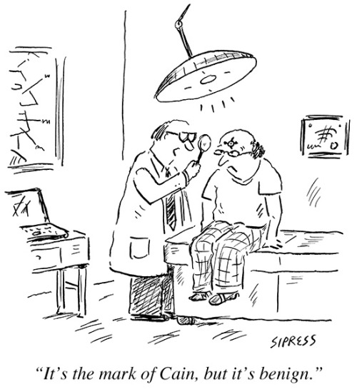 newyorker:  A cartoon from this week's issue, by David Sipress.
