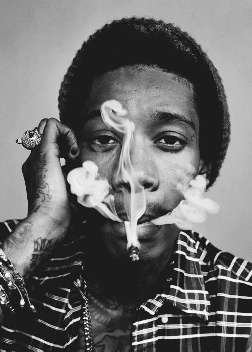black-attitude:  wiz khalifa | Tumblr en We Heart It. http://weheartit.com/entry/54954358/via/michelaaa_