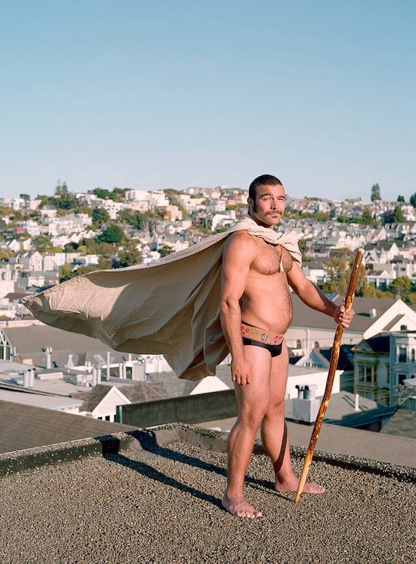 Photographer Jamil Hellu takes ordinary people and makes them into superheroes. We love scruffy, handsome men in costumes.