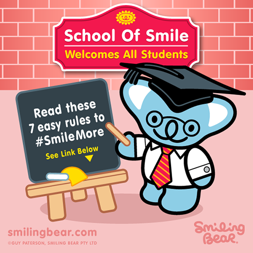 Follow 7 simple rules to Smile More: http://www.bit.ly/SB_SOS_B
