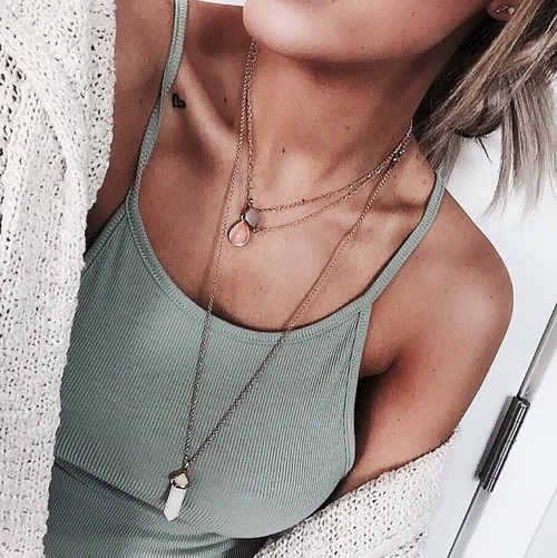 jewerly fashion style ootd outfit look lookbook instagram inspiration newchic hexagon women