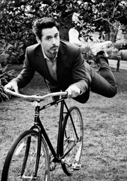 heyguise:  Have a picture of Robert flying his bike Yes Flying his bicycle
