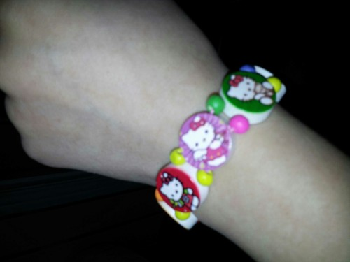 steam-mouse:  New bracelet arrived today,aw it's fab :3