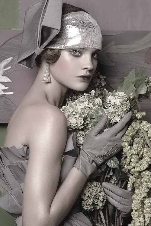 "pivoslyakova:  Natalia Vodianova in ""Fashioning The Century"" by Steven Meisel 