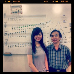 Mr.Ensim & Me #piano #keyboard #tutor #ex-teacher #maestro
