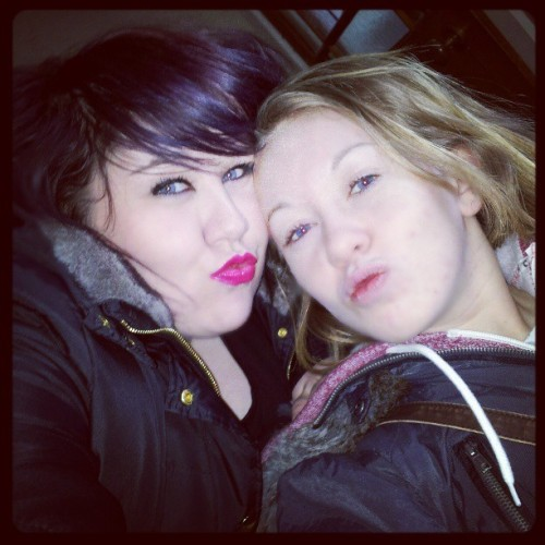 Me and my gorgeous sis #pout #love #family