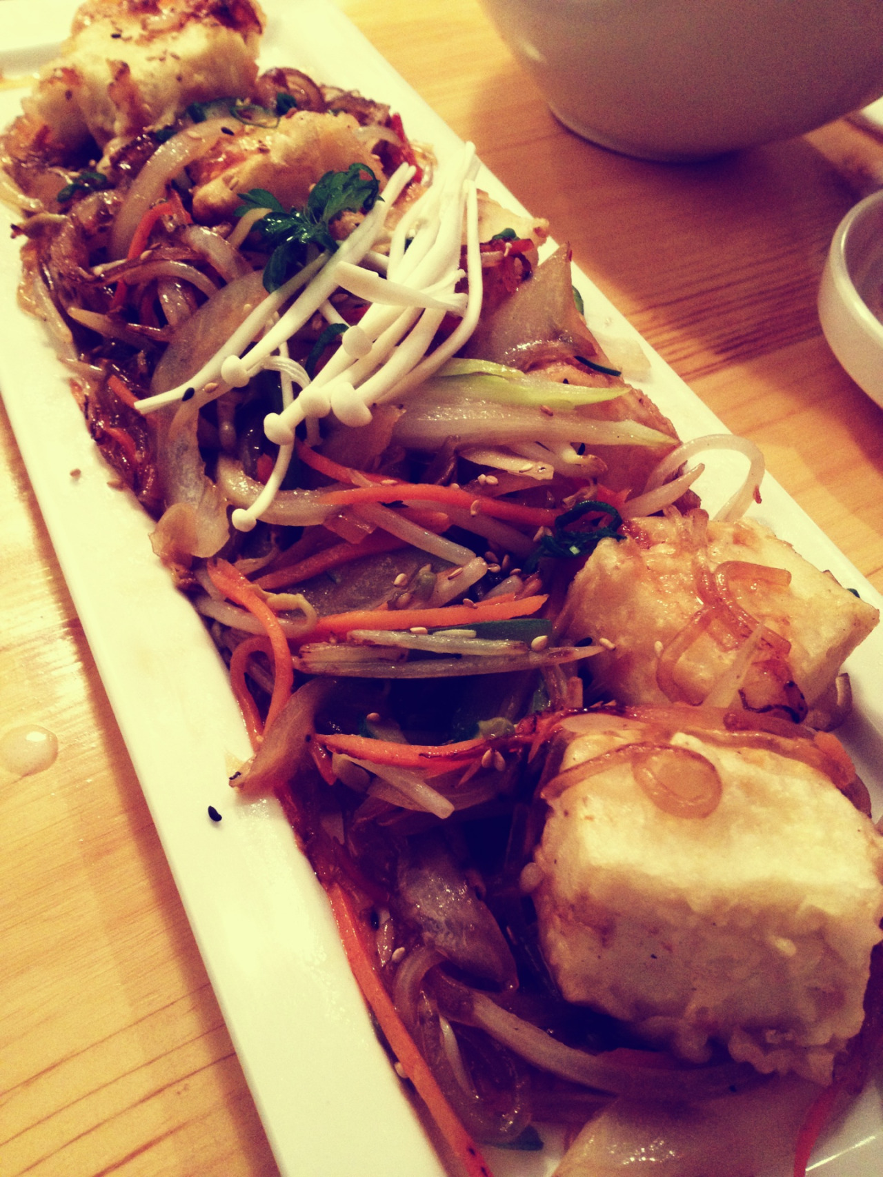 "#Yummy Korean Food  "" Japchae"" ""잡채"""