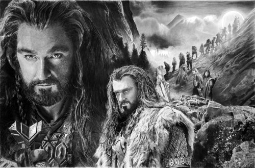 Thorin Oakenshield by *francoclun