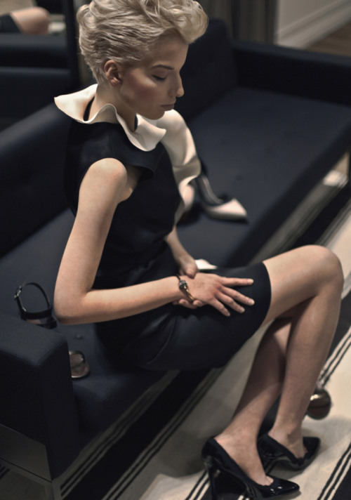 Lanvin, Spring 2013 collection for Warsaw's Vitkac Store (+) photographer: Pawel Widurski Kinga Jay