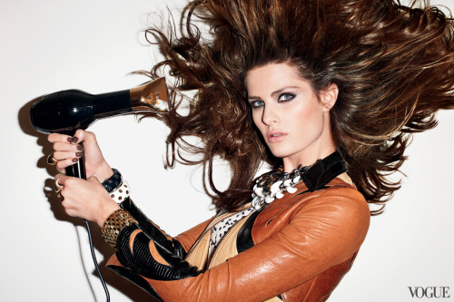 vogue:  Speed Hair: From Fitness Studio to Blowout Bar in Less Than Fifty FeetPhotographed by Terry Richardson, Vogue, December 2009Read the article