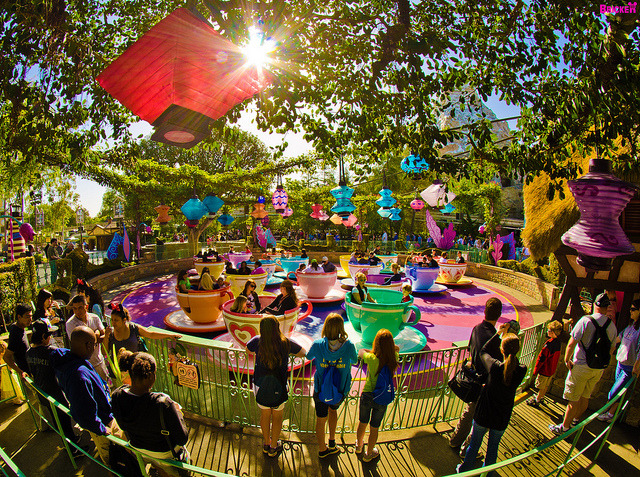 imagineerdreaming:  A Radiating Morning Of Fun In Disneyland by Tom.Bricker on Flickr.
