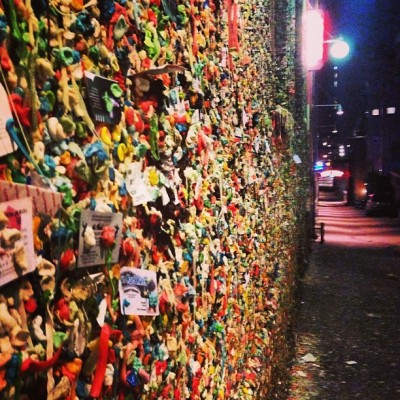 The Gum Wall, Seattle (at Gum Wall)