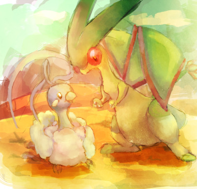 pokemonfourever:  -AT- Desert Heat by ~Lin00ne