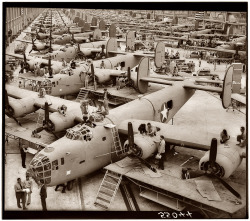 B-24 Assembly Hall, April 1943