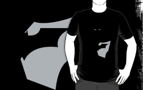 Batman-Grey and Black Tee! by Caseyjennings Awww snap! You guys can buy the t-shirt now! More is coming up…