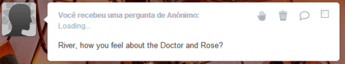 ask-for-the-doctor:  River: Well, honey, I really do not care much. It's not like I could be jealous of her. And he is my husband, right?