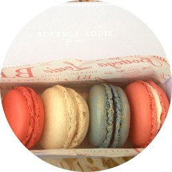 Macarons are gluten free. There is a God.  (at Bottega Louie)