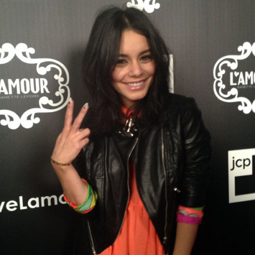 Vanessa Hudgens at the L'Amour By Nanette Lepore For JCP launch party. Photographed by Julia Rubin.