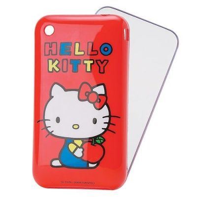jinakanishi:  hello-kitty:   Hello Kitty iPhone Case karinyang: I've been wanting a huge hk sticker or something on my iPhone but I found this! But I love my incase this one looks like it'll break! Ahhh what to do…it's so cute and it's the og hk!!!