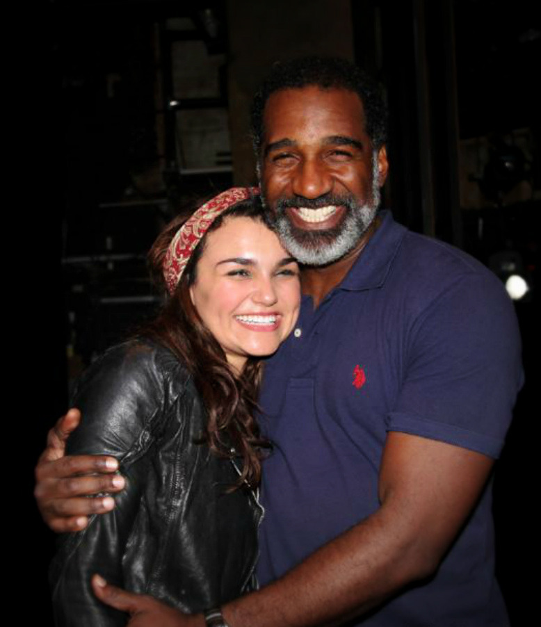 samanthabarksuk:  with Norm Lewis from the 25th Anniversary