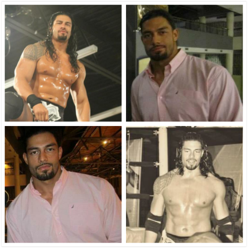 sammeexsweetheart:  Stop teasing me Roman! ;) He's just so flawless  Who is this?