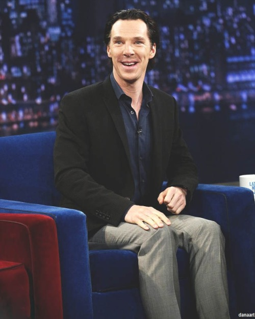 cumbermums:    He is like a child in a toy store…   *bless*