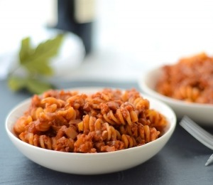 findvegan:  fake meat-free, vegan bolognese!! :)