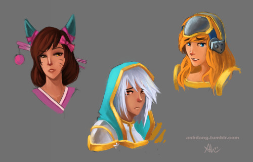 School is done! I finished my finals! Which means more League art yaaaay!