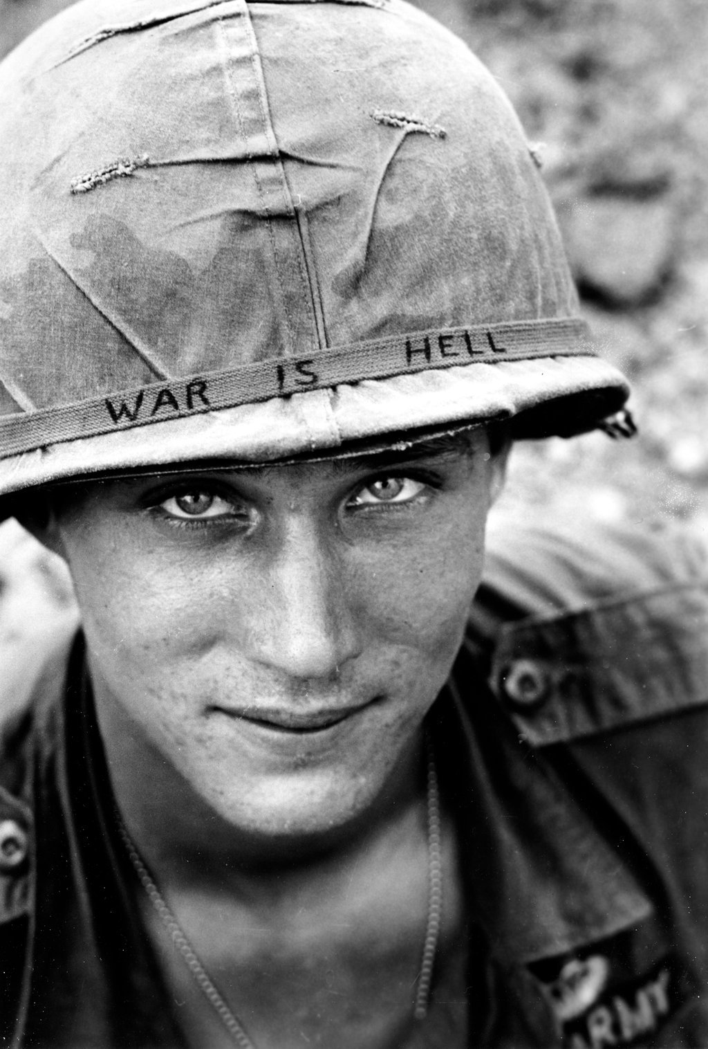 An unidentified US soldier in 1965. By Horst Faas