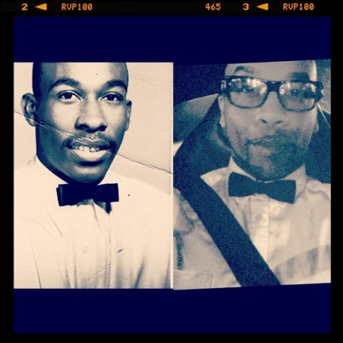 #1966 / #2013  wore #pops #bowtie tonight 😌