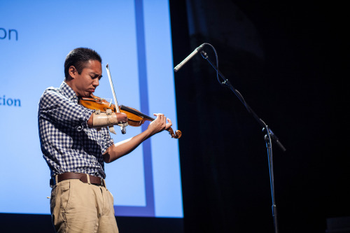 Violin virtuoso Adrian Anantawan was born without a right hand. At PopTech 2012, he shares how he is using technology to help the most disabled among us to create music.