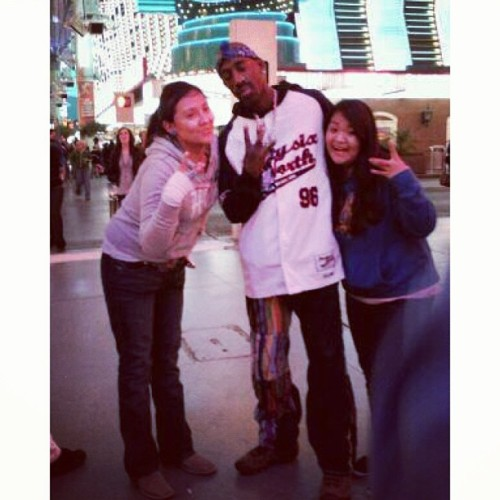 When we met tupac. #tbt #tupac #vegas #lol #2010
