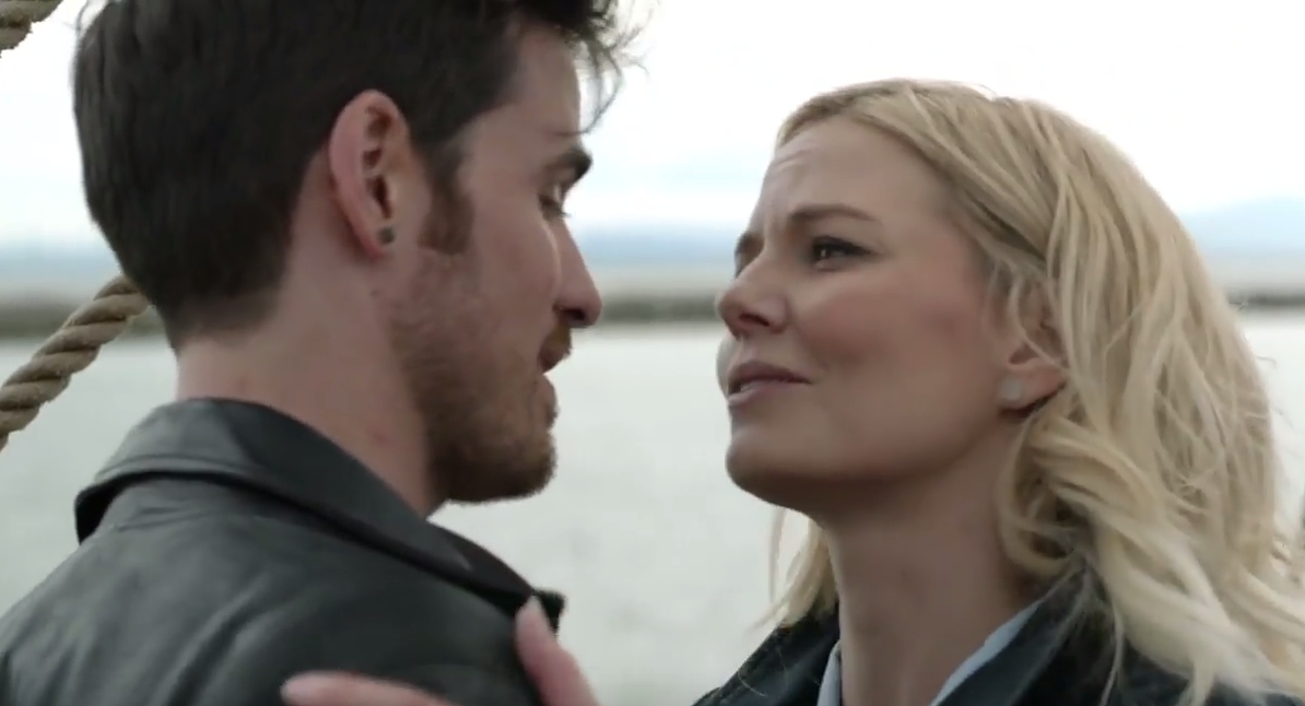 Can you believe Captain Swan invented true love? Hi Oncers, we miss you! (But we will miss Jennifer Morrison more.)