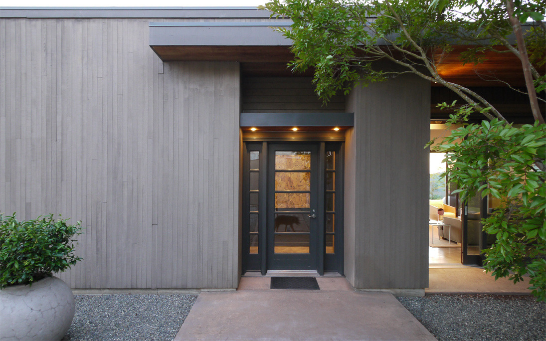 house, wall + garden | entry ~ erich remash architect
