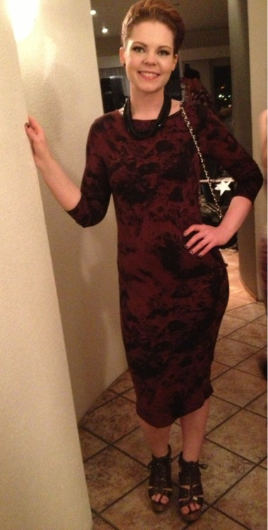 OOTN From last nights Oscar themed Gala. I know it's not really Oscar worthy, maybe more Grammys or Golden Globe. But I felt amazing and gorgeous.