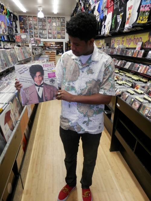 doing a lil vinyl shoping had to pick up Prince Controversey album #classic http://ajcertified1.tumblr.com/