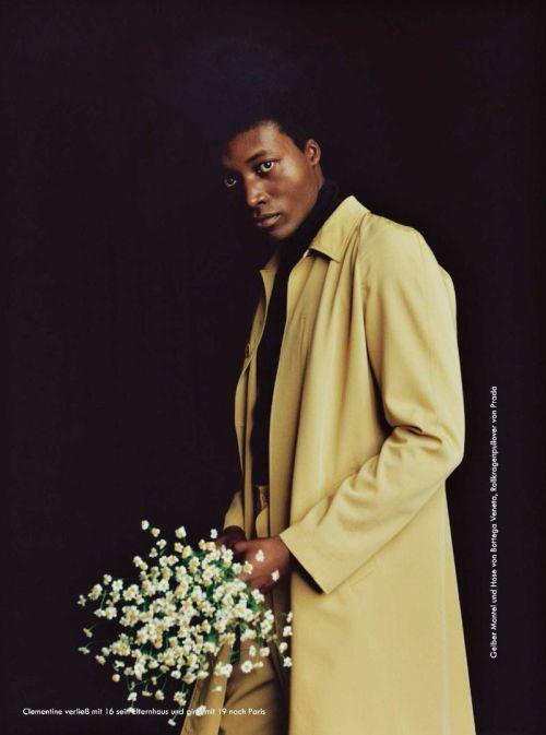 fashionfavdotcom:Benjamin Clementine by Coco Capitan for Zeit Magazine March 2017 #benjamin clementine#coco capitan#2020s#mens fashion