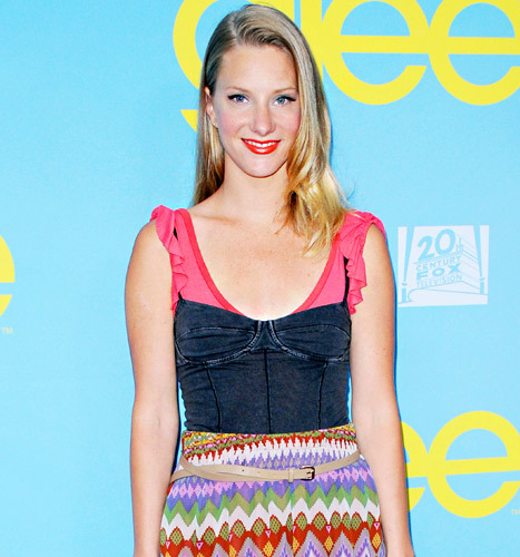 Glee's Heather Morris is expecting! Congrats!