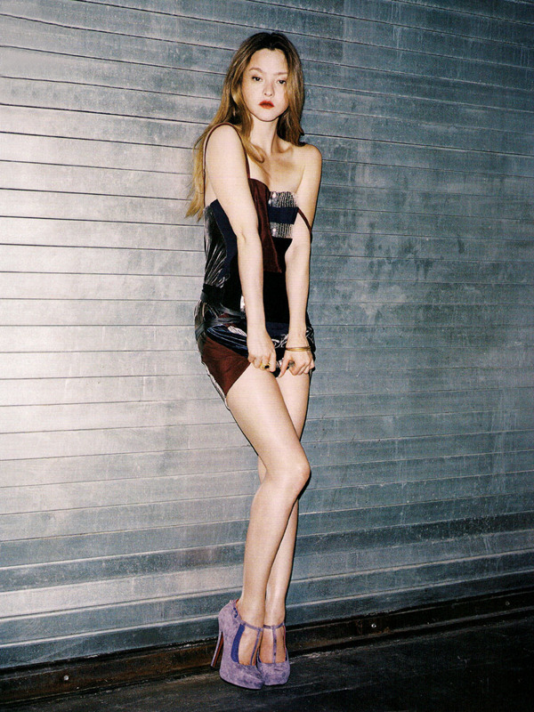 abigaildonaldson:  Devon Aoki by Angelo Pennetta for LOVE #4 Fall/Winter 2010